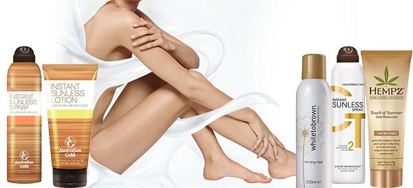 Лосьоны-автозагары для тела от Dove и других брендов