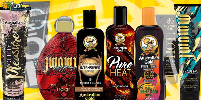 Australian Gold - для загара в солярии и на солнце