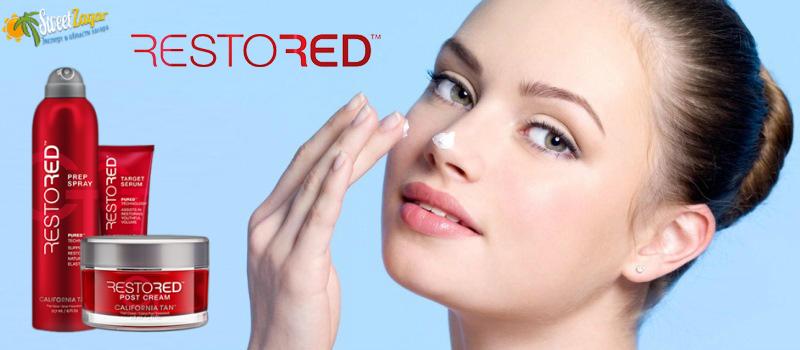 Restored - восстанавливающая молодость косметика