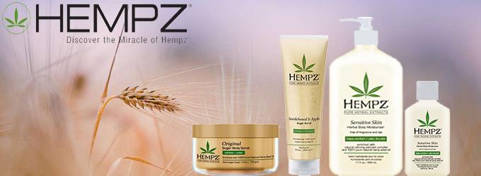 Hempz - 100% питание кожи гарантировано