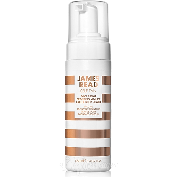 Fool Proof Bronzing Mousse Face & Body Dark