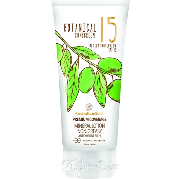 Botanical SPF 15 Mineral Lotion
