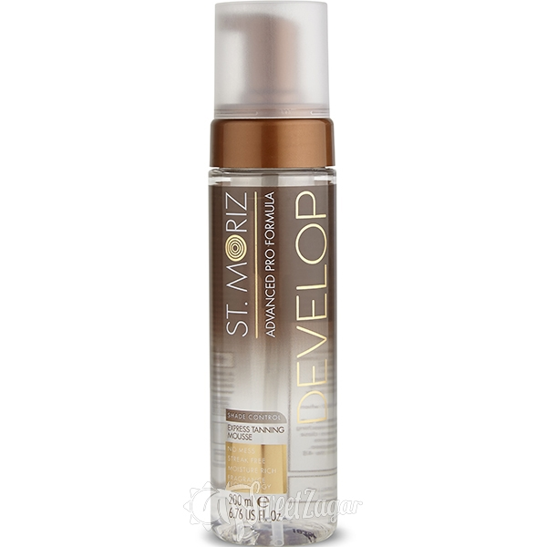 St. Moriz Express Clear Tanning Mousse