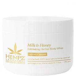 Hempz Milk and Honey Exfoliating Herbal Body Whip