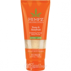 Hempz Yuzu & Starfruit Exfoliating Herbal Body Primer