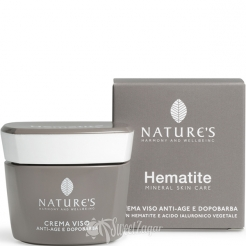 Hematite Face Cream Antiage and After-Shave