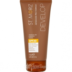 St. Moriz Gradual Tan & Protect Cream SPF 30