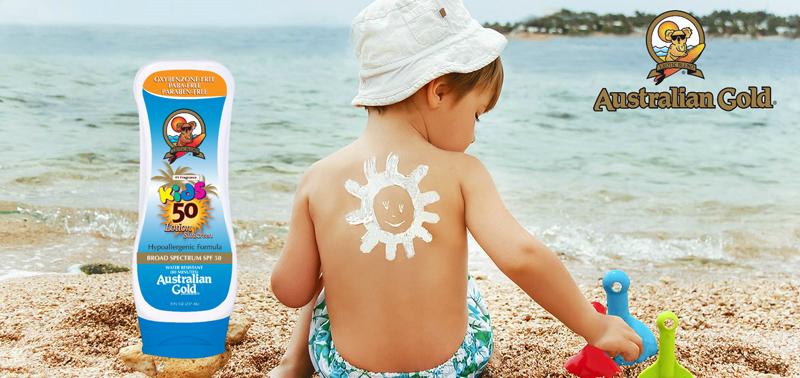 Детская SPF косметика от знаменитых Australian Gold