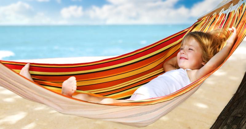 Хорошая косметика - залог здорового загара для ребёнка