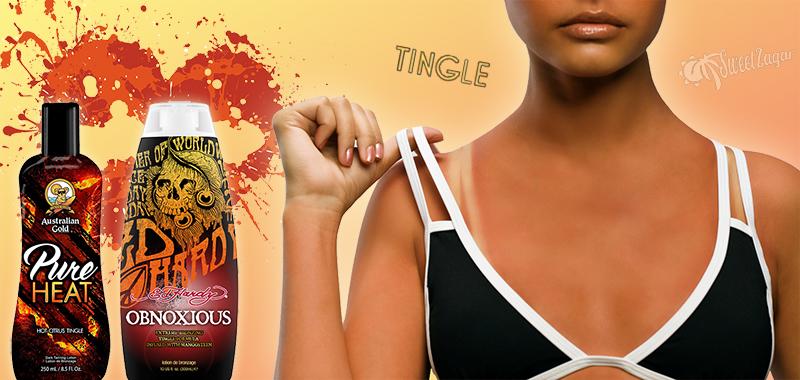 Tingle-крема бывают с бронзаторами и без